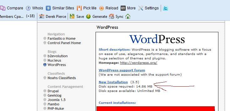 fansastico_wordpress_new_install