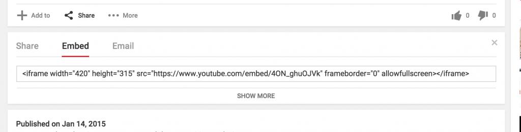 youtubeembedcode